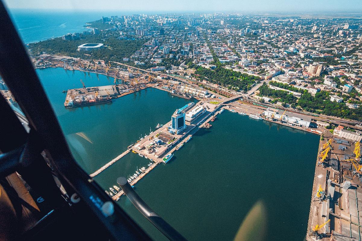 Полет над Одессой 60 минут
